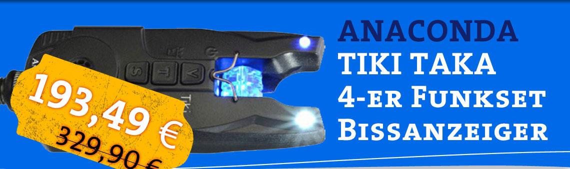 Bissanzeiger Anaconda Tikki Takka günstig im Set hier online kaufen| Bissanzeiger Set