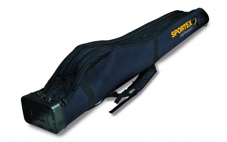 Sportex Super Safe Rutenfutteral für 4 montierte Ruten 1,65 Meter 4 Fächer