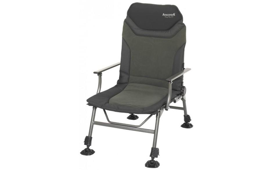 Anaconda Carp Chair II Karpfenstuhl Carpchair 2 mit Armlehnen
