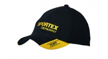 Sportex Base Cap schwarz | Baseballcap von Sporte