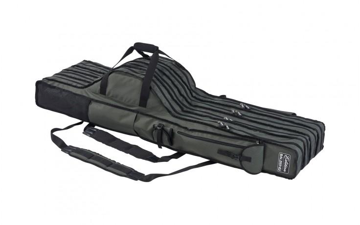 Balzer Edition Rutenrucksack, 4-fach 1,50 * 40 * 26 cm Rutentasche mit Außenfächer für mindestend 4 montierte Angelruten