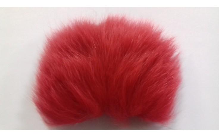 Artic Fox Körperfellstück rot