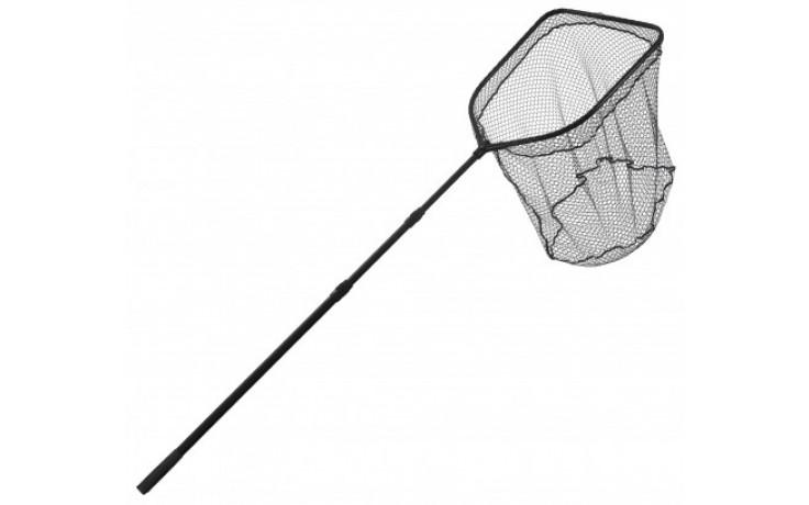 Specitec Specialist Black Tight Kescher Unterfangkescher 2,9 Meter 50 * 60 cm Armlänge 16 mm Maschenweite