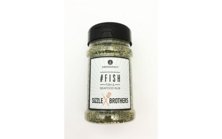 #Fish Ankerkraut Trockenmarinade ideal für Fisch 130 Gramm