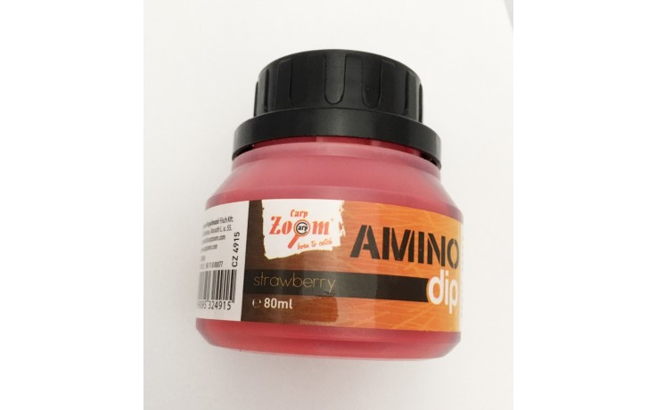 Amino Dip Carp Zoom Erdbeer 80 ml Dip für Boilies und Angelköder
