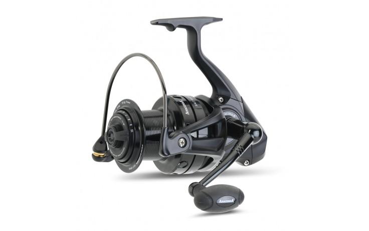 Anaconda Peacemaker Fast Drag Karpfenrolle mit Spezial Frontbremse innovatives Frontbremssystem 400 Meter 0,35 mm Mono
