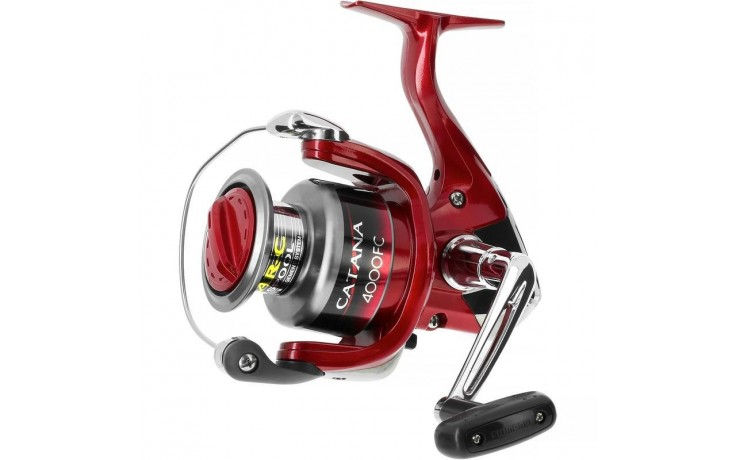 Angelrolle Shimano Catana 3000S FC mit Frontbremse