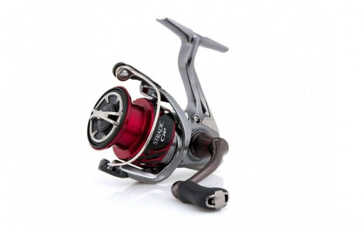 Angelrolle Shimano Stradic CI4+ 4000 FB mit Frontbremse