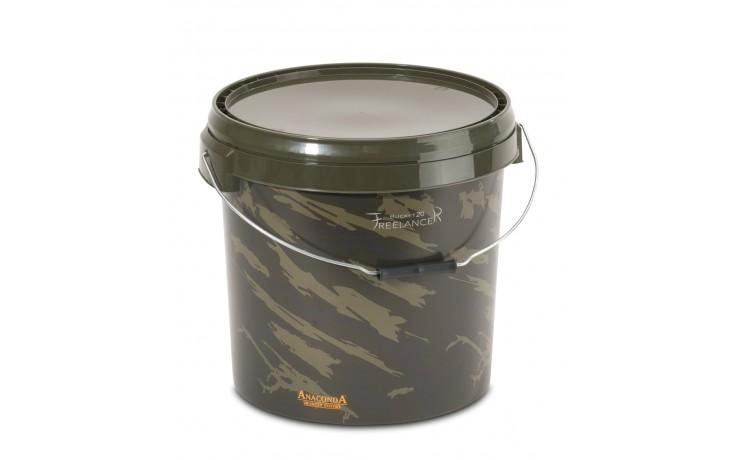 Anaconda Freelancer Bucket 20 Liter Ködereimer Boilieeimer Futtermittel & Boilies, Pellets