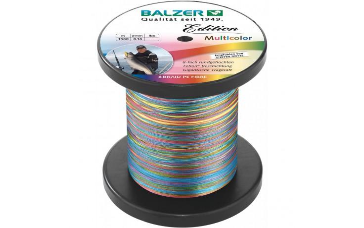 Balzer Multicolor 0,26 mm Angeslschnur geflochten