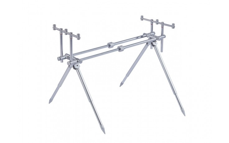 Balzer Metallica Titan Rod Pod 2,3 kg leicht länge 0,57 bis 0,84 Meter Höhe bis 0,80 und 0,40 Meter