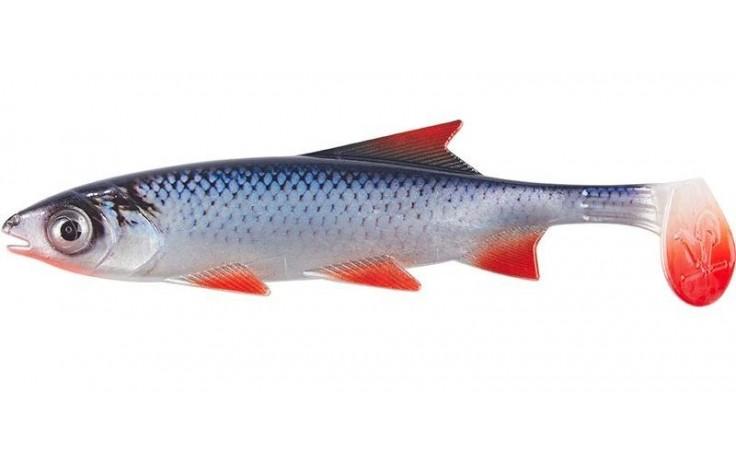 Clone Shad Rotauge 9cm Angelköder Gummifisch zum Angeln auf Raubfische