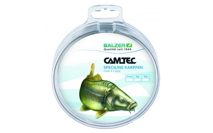 Balzer Camtec Speciline Karpfen 500 m Angelschnur 0,25 mm