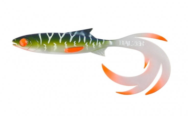 Balzer Booster Shad Reptile Shad UV Hecht, 24cm