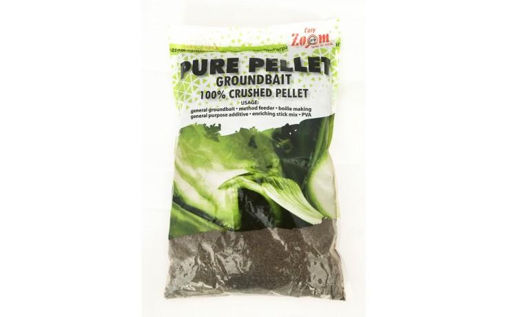 Carp Zoom Pure Pellets Black Heilbutt fein ideales Anfütterungsmittel 800 Gramm zum Anfüttern