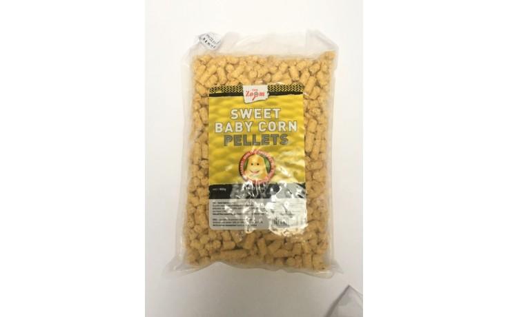 Carp Zoom Sweet Baby Corn Pellets Mais Natur 800 Gramm Angelköder für Friedfische