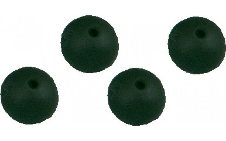 Gummiperlen 6 mm für Angelmontagen, Grundbleimontage, Karpfenmontagen