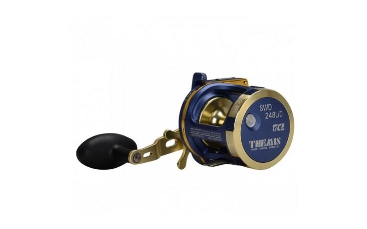 Tica Themis Linkshand Multirolle SWD 248 LC 300 Meter 0,35 mm Schnurfassung