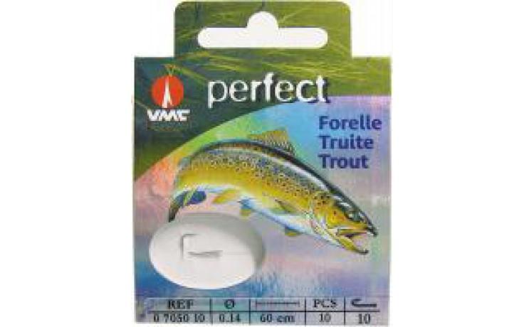 VMC Forellen Vorfachhaken Perfect