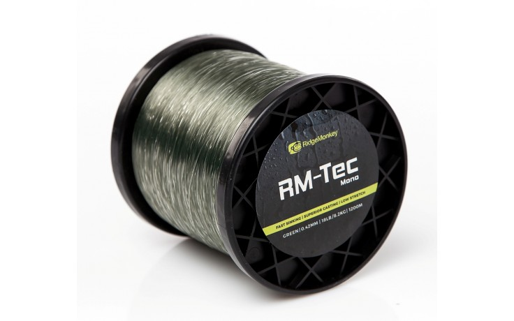 Ridge Monkey RMT002 Tec-Mono 15lb/0.38mm Green1200m