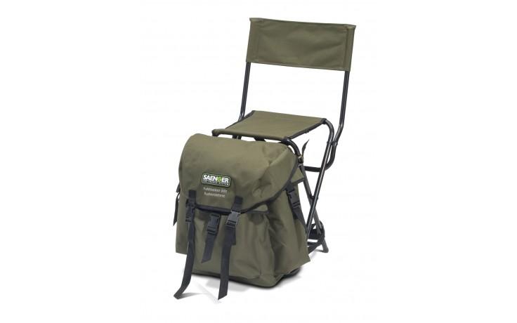 Angelstuhl Rucksackstuhl mit Rückenlehne 2,8 kg Sitzhöhe 48 cm