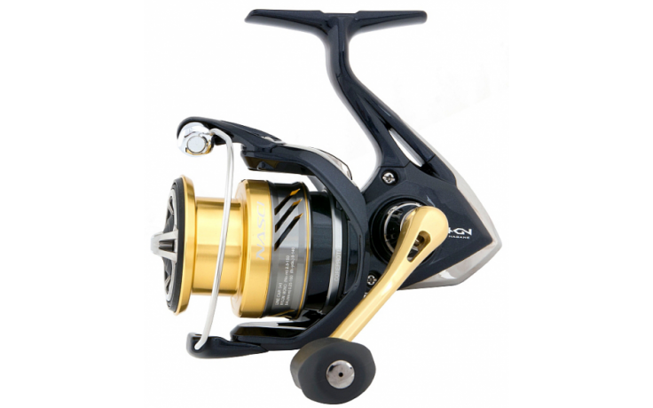 Angelrolle Shimano Nasci 4000 FB mit Frontbremse