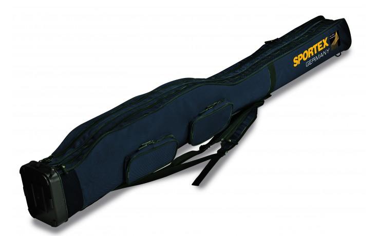 Sportex Super Safe Rutenfutteral für 4 montierte Ruten 1,5 Meter 2 Fächer für 4 Angelruten