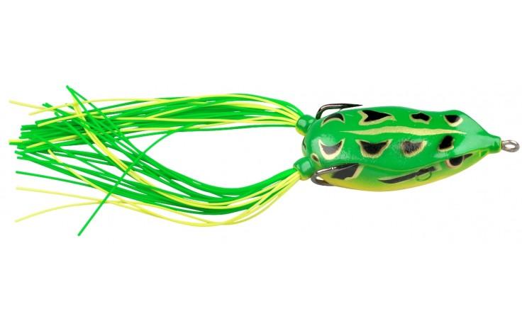 Spro Bronze Eye Froschköder Angelköder Frosch für s Raufischangeln Forest Green 65 mm