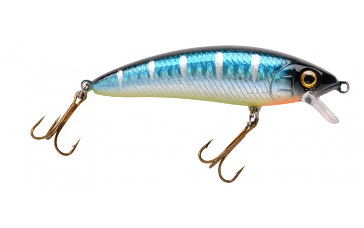 Wobbler Power Catcher Spro Minnow 70 Blue Back 7 cm 1,5 Meter Tauchtiefe 10 Gramm