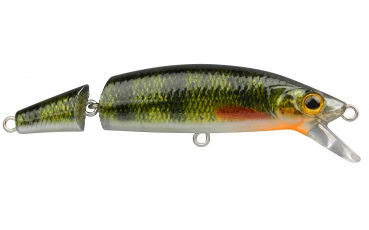 Wobbler Spro Ikiru Jointed 110 1,5 Meter Tauchtiefe 22 Gramm 110 mm 2teilig Yellow Perch Barsch
