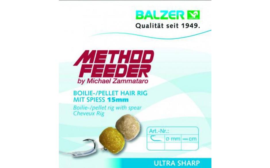 Balzer Method Feeder Hair Rig mit Speer