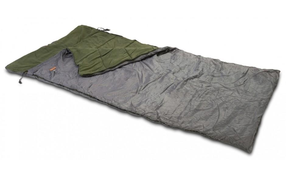 Anaconda Magist Anglerschlafsack Sleepingbag 2 * 0,9 Meter 1,9 kg Fleeceinnenfutter mit Tasche