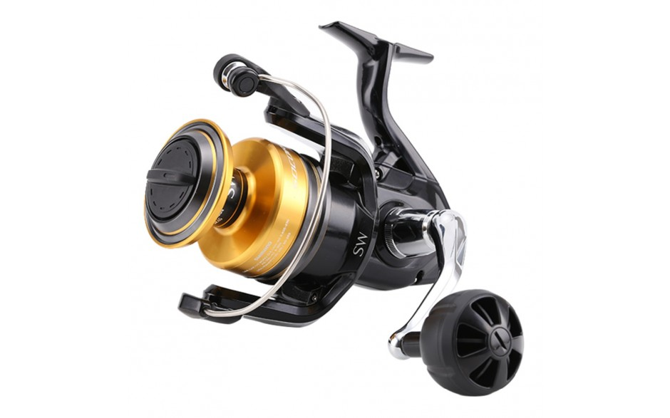 Angelrolle Shimano Socorro 5000 SW mit Frontbremse
