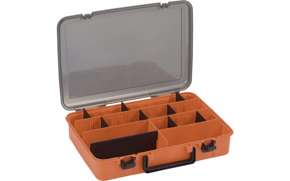 Balzer Shirasu Box Single einseitige Angelköderbox Angelzubehörbox 38,5 * 27,5 * 8 cm