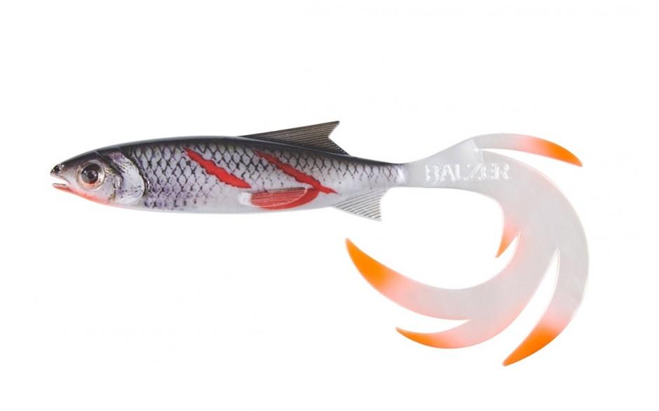 Balzer Print Shad Reptile Shad Weissfisch-Bloody Minnow, 15cm