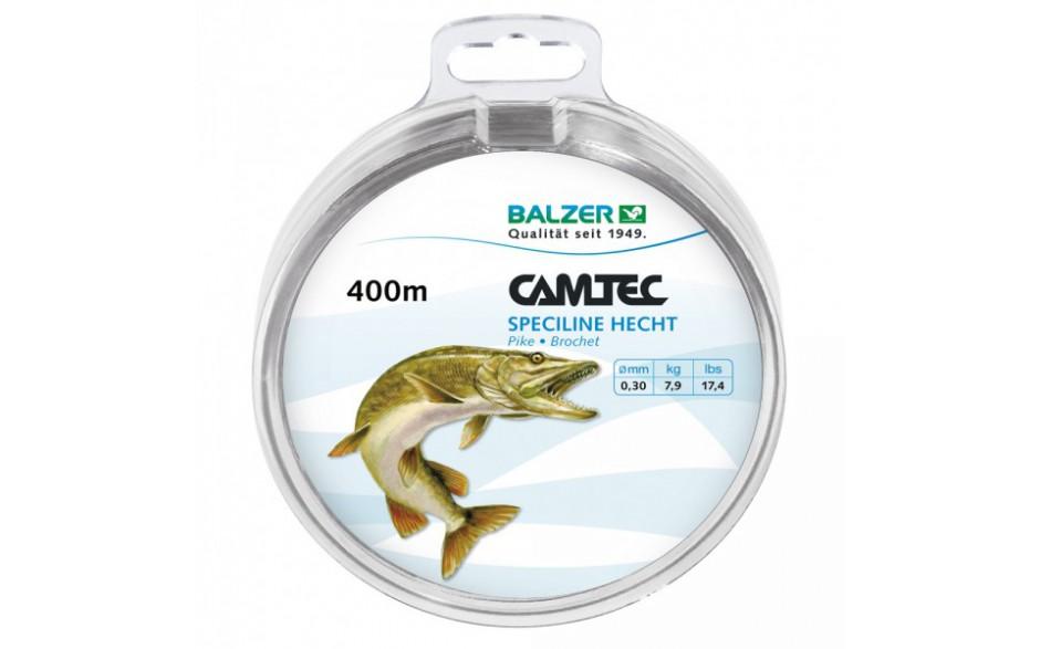 Balzer Camtec Speciline Hecht 400 m Angelschnur 0,40 mm