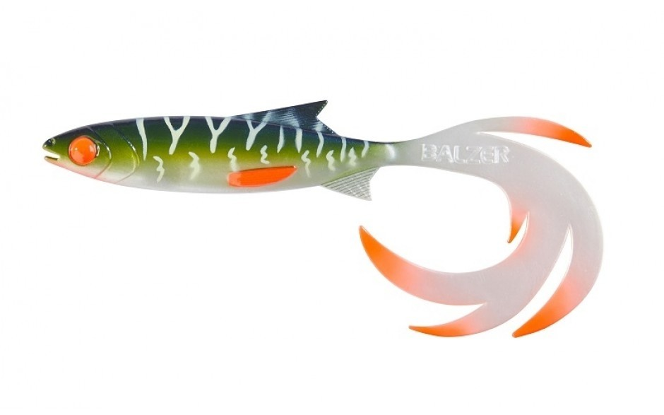 Balzer Booster Shad Reptile Shad UV Hecht, 7cm