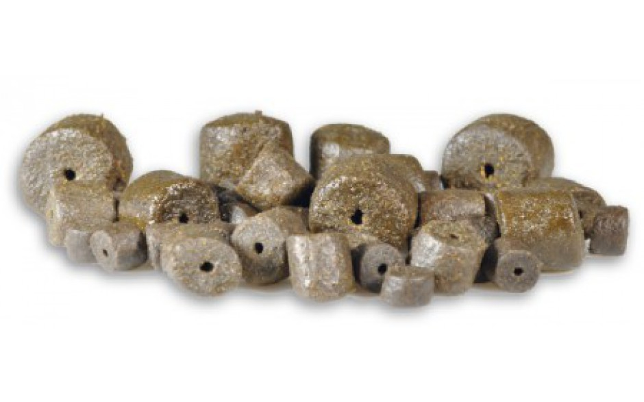 Carp Zoom Halibut Pellets mit Loch Sackware
