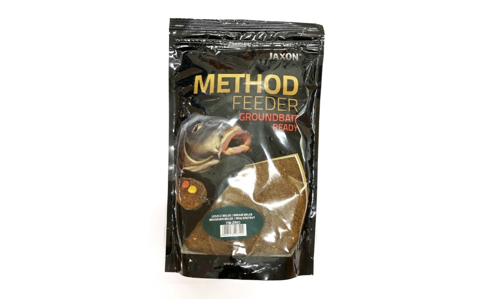 Jaxon Method Feeder Groundbait Ready Fertigfutter Erdbeer Strawberry 0,75 kg