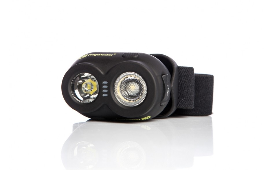 Ridge Monkey RM174 VRH150 USB Rechargeable Headtorch