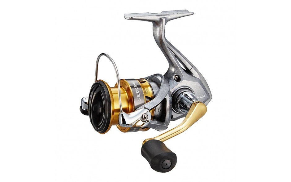 Angelrolle Shimano Sedona 4000 FI mit Frontbremse