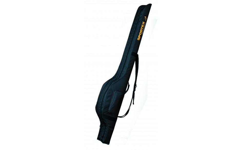 Sportex Super Safe Karpfenrutentasche weich gepolstert für 3 montierte Angelrute 1,98 Meter