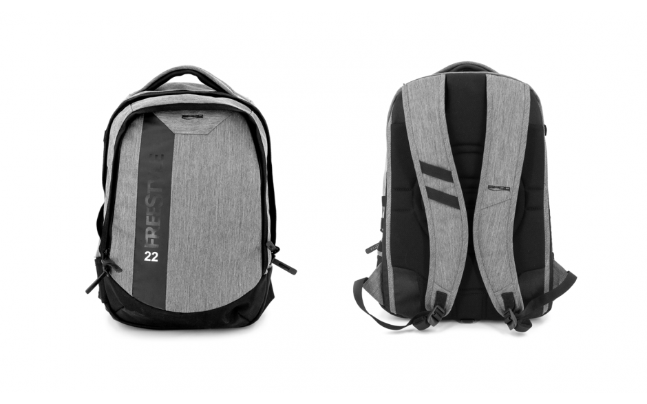 Spro Freestyle Backpack Angelrucksack mit 1 großen Tacklebox 50 * 32 * 17 cm