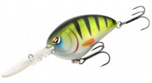 Spro Little John Baby DD 60 Wobbler Green Perch