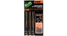 FOX Edges Leadcore Leaders with Kwik Change Kit