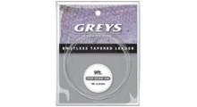 Hardy Greys Greylon Fliegenvorfach 0,15 mm 5X Spitze