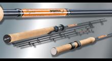 Sportex Hegene HG2401 Hegenerute 2,4 Meter 5 bis 25 Gramm