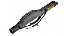 Sportex Super Safe 1,45 Meter für 1 Angelrute Farbe grau mit 2 Trageriemen für Rucksackfunktion
