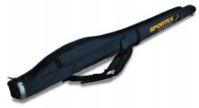 Sportex Super Safe Rutenfutteral für 2 montierte Angelruten 1,65 Meter 2 Fächer neue Farbe Grau